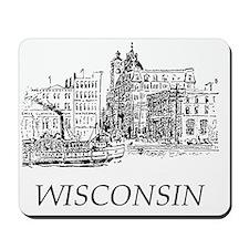 Vintage Wisconsin Mousepad