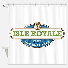 Isle Royale National Park Shower Curtain