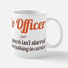 no officer Mug