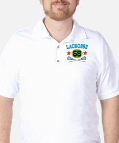 Lacrosse Player Number 68 T-Shirt