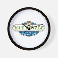 Isle Royale National Park Wall Clock