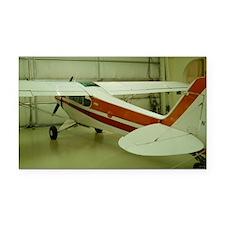 Super Cub Piper Plane Rectangle Car Magnet