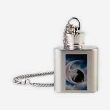 Cat 580 Flask Necklace