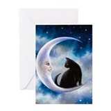 Moon Greeting Cards