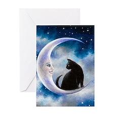Cat 580 Greeting Card