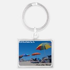 Ocean City, MD Post Card Landscape Keychain