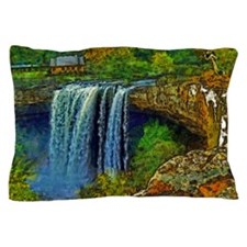 Noccalula Falls Pillow Case