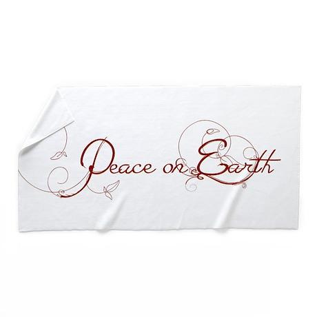 Peace on Earth Beach Towel