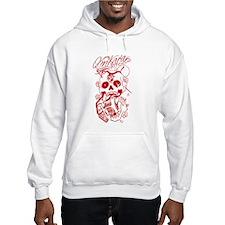 Omkara Owl Skull Hoodie