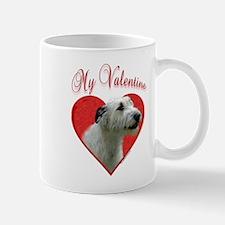 Wolfhound Valentine Mug