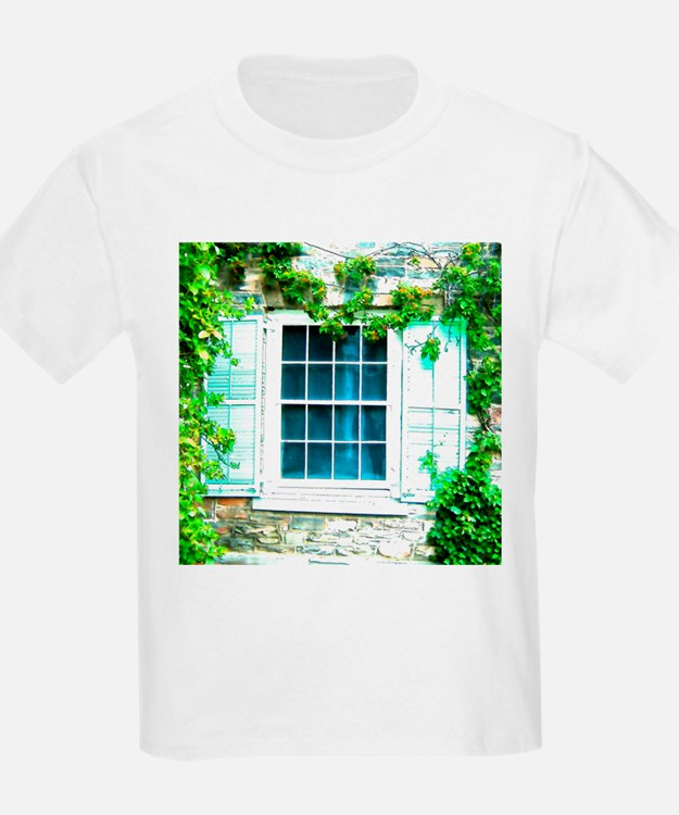 Window Shuttered With Ivy T-Shirt