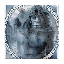 BCSCC Blue Almas Club Logo Tile Coaster
