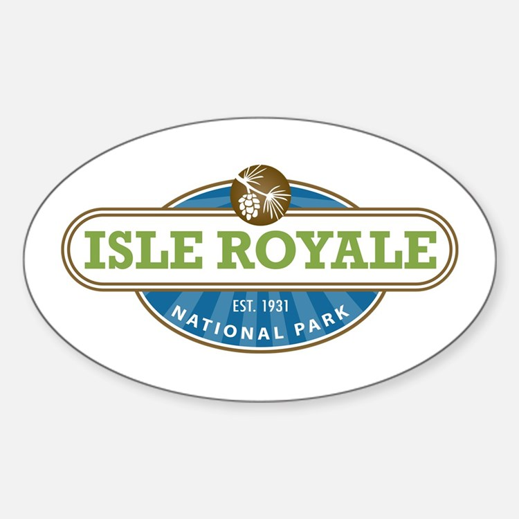 Isle Royale National Park Bumper Stickers