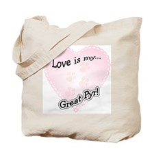 Pyr Love Is Tote Bag
