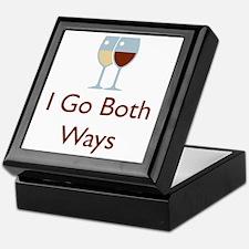 I go both ways Keepsake Box