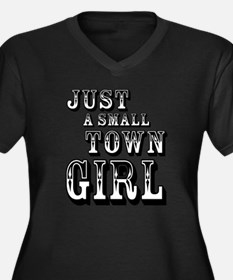 Just a Small Town Girl Plus Size T-Shirt