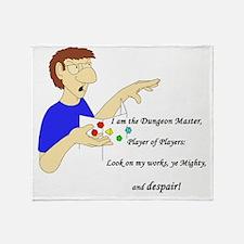 dungeonmaster Throw Blanket