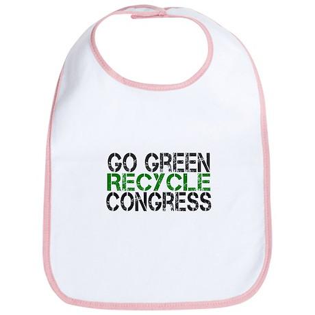 Go Green Recycle Congress Bib