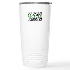 Go Green Recycle Congress Travel Mug