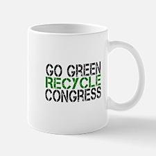 Go Green Recycle Congress Mug