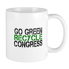 Go Green Recycle Congress Mug