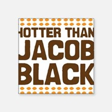 "hotterjb Square Sticker 3"" x 3"""
