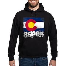 Aspen Grunge Flag Hoodie