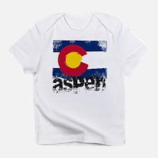 Aspen Grunge Flag Infant T-Shirt