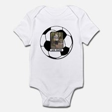 Photo and Name personalized soccer ball Body Suit