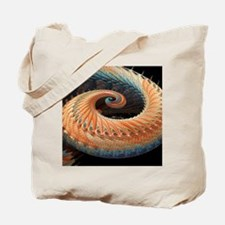 Dragon tail fractal Tote Bag