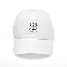 Nine Penguins Baseball Cap