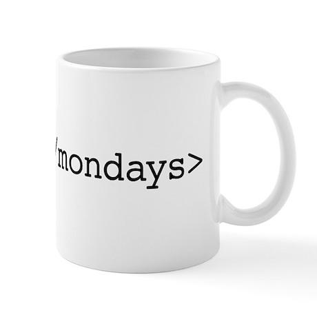 End Mondays Mugs