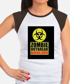 Zombie response team ke Women's Cap Sleeve T-Shirt