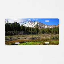 Mount Shasta 24 Aluminum License Plate