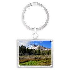 Mount Shasta 24 Landscape Keychain