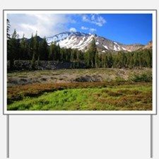 Mount Shasta 24 Yard Sign