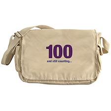 100 still counting Messenger Bag