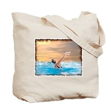 Unique Synchro swimming Tote Bag