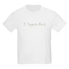 Synchronized swimming Kids T-Shirt