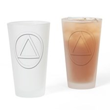 AA_symbol_white Drinking Glass