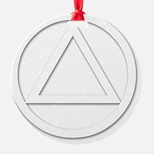 AA_symbol_white Ornament