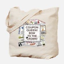 COUPON QUEEN! Tote Bag