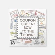 COUPON QUEEN! Sticker