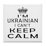 Ukrainian Tile Coasters
