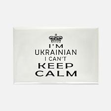 I Am Ukrainian I Can Not Keep Calm Rectangle Magne