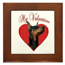 Dobie Valentine Framed Tile