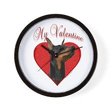 Dobie Valentine Wall Clock