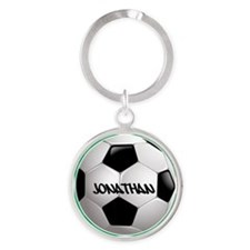 Customizable Soccer Ball Keychains