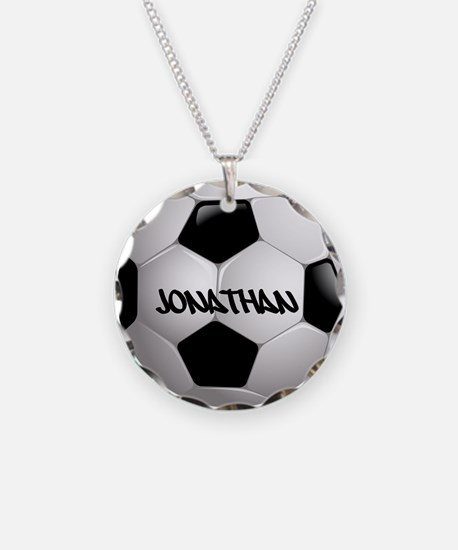 Customizable Soccer Ball Necklace