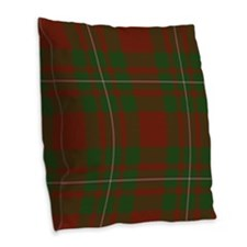 MacGregor Tartan Burlap Throw Pillow